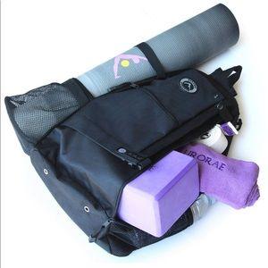 Aurorae yoga Mat back pack